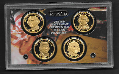 Coins Proof US Mint's  2007 Proof Presidents Set