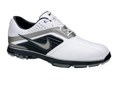 Nike Lunar Prevail Lunartron Golf Shoes – White & Black In Size 10.5