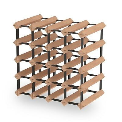 20 Bottle Timber Wine Rack - Fully Assembled & Delivered - Free Aus Postage!