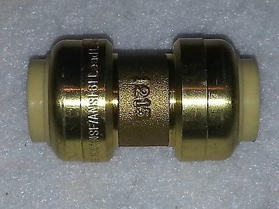 "1/2"" Sharkbite Style Push Fit Repair Coupling Fitting. Lead Free.  New"