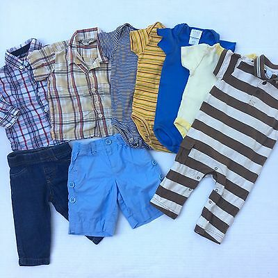 Lot Of Baby Boys Clothes Size 6 9 12 Months Spring & Summer