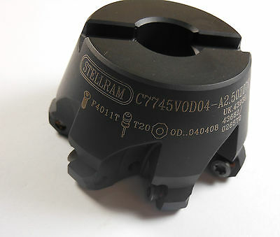 STELLRAM Indexable Shell Mill C7745VOD04-A2.50Z07R 026572 -7897E1571