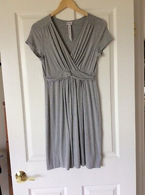 A Pea In The Pod Sleep M Nightgown Light Gray