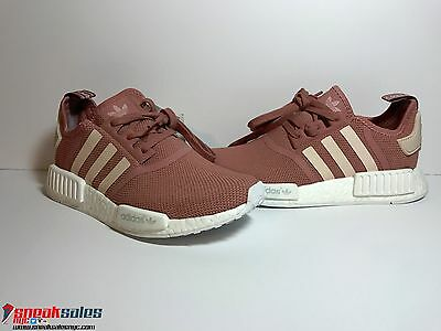 479922500 Adidas NMD R1 Runner W Nomad Women s WMNS Peach Pink Salmon Boost S76006 8.5