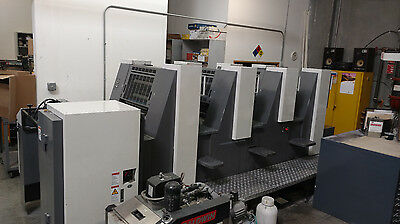 Shinohara 52IV 14x20  4-Color Year 2007 Offset Printing Press - Just Reduced