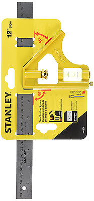 STANLEY 46-028 12-Inch English/Metric Combination Square