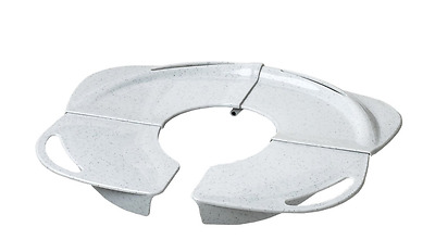 Primo Folding Potty Seat with Handles, Grey
