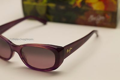 NEW* Maui Jim Lilikoi Sunglasses RS258-28A Amethyst Rose Womens MSRP 299$