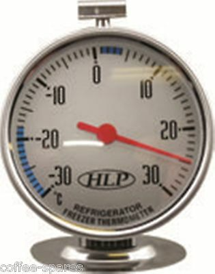Fridge Freezer Dial THERMOMETER HLP -30c to +30c 75mm your fridge cold enough?