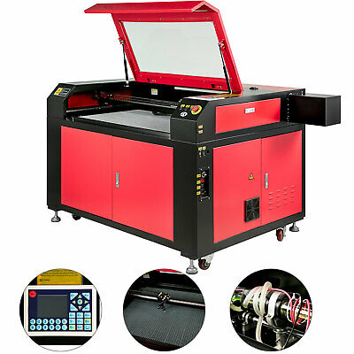 100W CO2 Laser Engraving Cutting Machine Engraver Cutter 900X600mm USB Port
