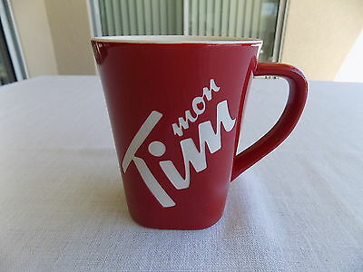 New Tim Hortons Mon Tim (French Only) 2013 Limited Edition China Coffee Mug