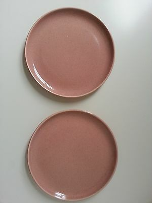 Russel Wright,American Modern, Steubenville,coral 6 inch plate,mint