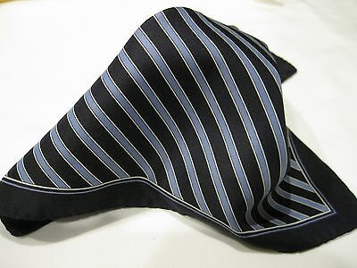 """Vintage JOHN HENRY/100% Polyester/Made in ITALY/13.""""X13 1/2""""Pocket Square"""
