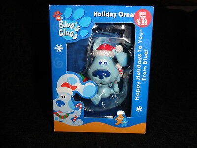 NEW Blue's Clues Happy Holidays to You- from Blue Christmas Holiday Ornament