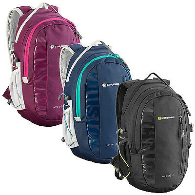 Caribee Hot Shot 8L Sporty Compact Backpack Daypack Black, Grape, Navy