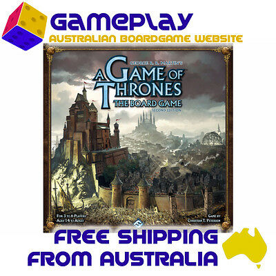 Game of Thrones Board Game 2nd Edition - Fantasy Flight Games