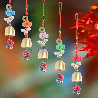 Mobile Wind Chime National Copper Bell Home Yard Garden Outdoor Living Decor