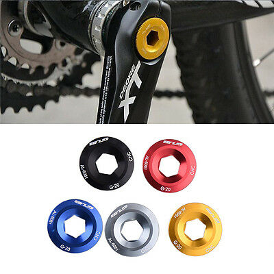 Bike MTB Arm Fixing Bolt Bicycle Cranks Chainset BB Axis Screws CNC For SHIMANO