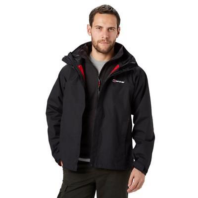 Berghaus Rg Delta 3-In-1 Aq2 Mens Jacket Casual Coat Outwear Sportswear Black