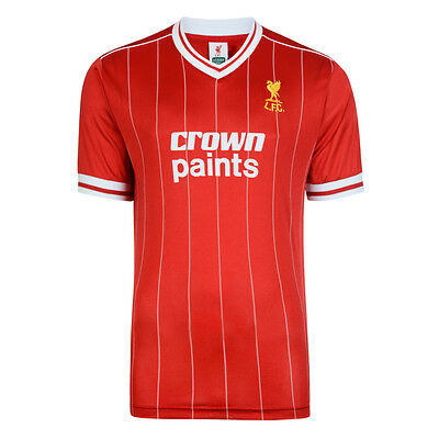Official Retro Liverpool FC 1982 Retro Football Shirt 100% Nylon