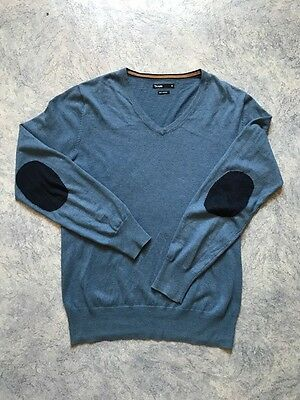 Pull Over Cachemire Couleur Bleu Comme Neuf Taille M Marque Jules Coudieres
