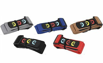 Acoustic Electric Guitar Bass Strap with plectrum pick holder and 3 picks UK