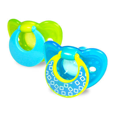 The First Years GumDrop 6-18 Months 2 Pack Pacifier - Boy
