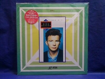 Rick Astley Video Hits Japan Laser Disc Music LD BVLP-1 Very Rare