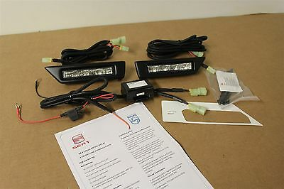 New Genuine Seat Ibiza 6J 2012 Onwards Fr Led Daytime Running Light Drl Kit