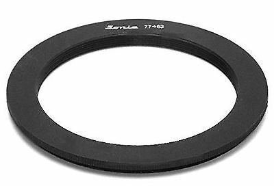 77mm to 62mm Step Down Ring Filter Stepping Adapter Sonia 77 62 NEW FREE SHIP