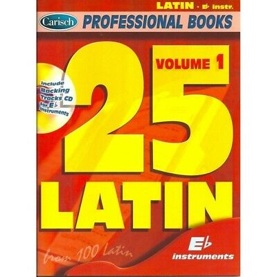25 Latin, Volume 1 Eb  - Professional Books series - CarischLibro + CD