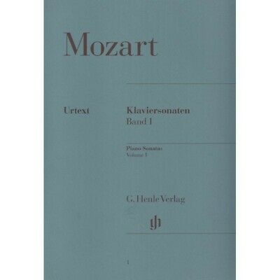 Mozart - Sonate per pianoforte vol 1 Ed. Henle Verlag