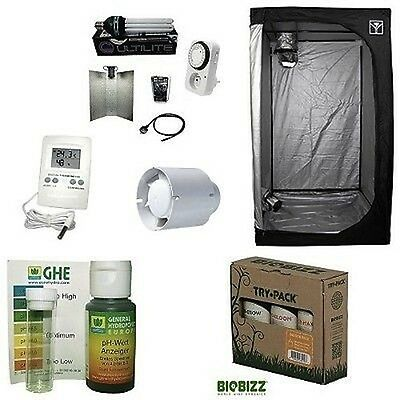 KIT Completo Coltivazione Indoor GROW BOX CULTILITE 60 + Lampada CFL 125W AGRO