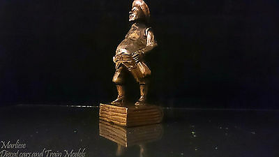 Antique Hand carved figure of an old man _ Rare