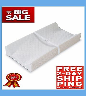 NEW Baby Changing Table Pad Contoured Diaper Change Cushion Nursery FREE 2 DAY