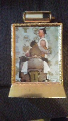 norman rockwell the tattooist whiskey decanister