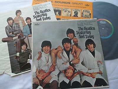 The BEATLES__BUTCHER ALBUM__3rd STATE LP ***EX*** with__SLICK__Mono T-2228