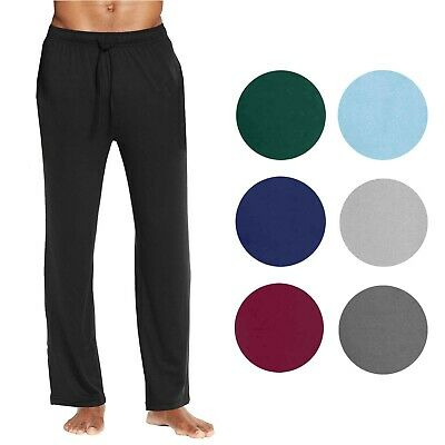 Mens Jogger Pants Lounge Sleep Gym Active Pajama Sweatpant Soft Sweatpants NWT