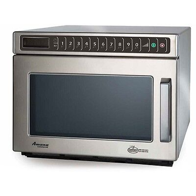 Amana HDC12A2 Commercial Microwave Oven AUG 2011 Model