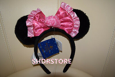 LIMITED SHANGHAI DISNEYLAND DISNEY PARK GRAND OPENING MINNIE Headband EAR SHDR