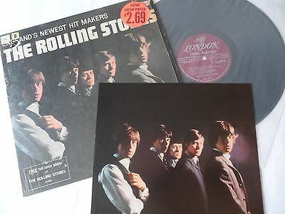 ROLLING STONES 1964 **EARLIEST 1st PRESS**  SHRINK + PHOTO  Newest Hitmakers LP