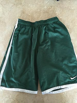 NIKE DRI Fit Men's Small Athletic Shorts Green *blemished*