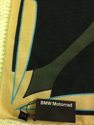 BMW Motorrad Bandana, 100% cotton, made in Italy, new with tag.