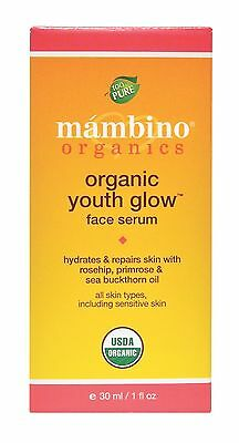 Mambino Organics: Organic Youth Glow Omega Face Serum, 1 oz