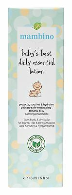 Mambino Organics: Baby's Best Essential Lotion, 5 oz