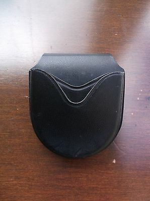 Safariland 26 Open Top Black Leather Police Duty Cuff Holder Handcuff Case