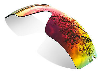 Sure Polarized Fire Red Replacement Lenses for Oakley Radar Path