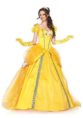 sexy leg avenue adult womens halloween deluxe disney princess belle costume