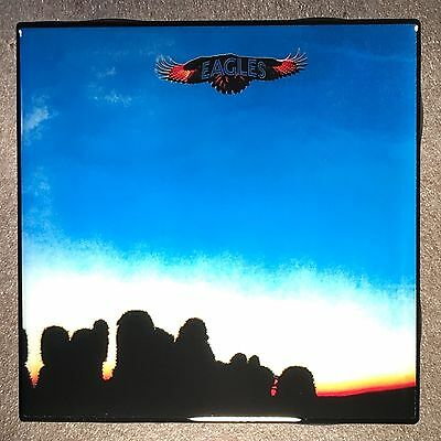 EAGLES Coaster First Record Cover Ceramic Tile