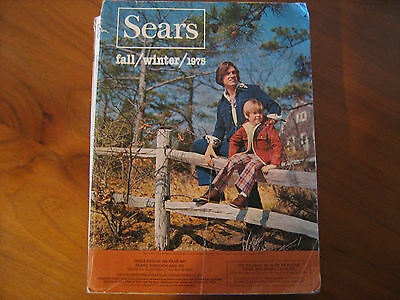 1975 SEARS Fall & Winter Catalog 1491 pages